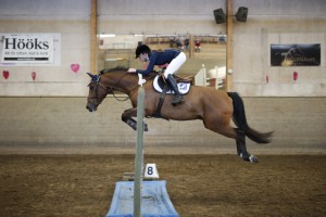 Annie W/Quax placerade i 110 vid Runstens tävlingar 150502.
