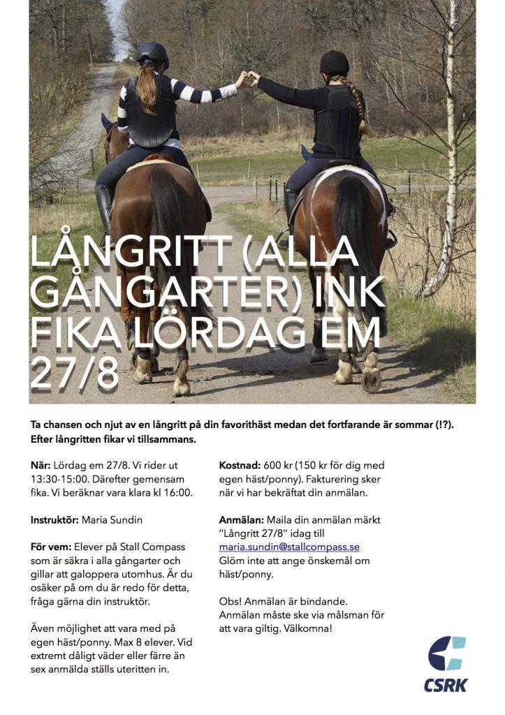 Långritt_160827